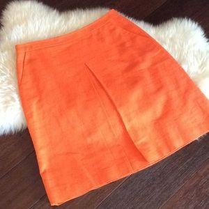 J. Crew Linen Skirt